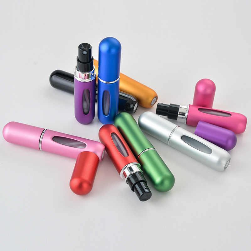 Ml Frasco de Perfume Spray de Carga Inferior do Ponto 5 Cosméticos Sub-garrafa Portátil Auto-Parte Inferior da bomba de Líquido máquina de Enchimento de Água frasco de Spray