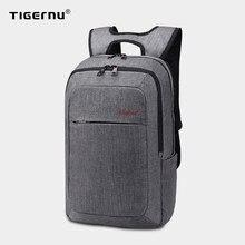 Tigernu masculino mochila marca 15.6 Polegada portátil notebook mochila para homens splashproof mochila mochila escolar para as mulheres