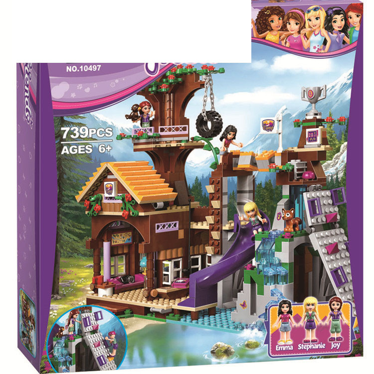 Bela Bole Small GIRL'S Children GIRL'S Educational Interactive Assembled Inserted Building Blocks Toy <font><b>10497</b></font> image