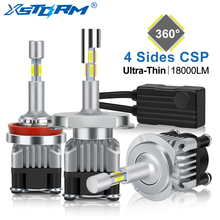 4 Sides 18000LM H7 Led Canbus H1 H3 H4 H8 H11 9005 HB3 9006 HB4 Turbo Led Headlight Bulbs 6000K 12V 24V Auto Car Lights Fog Lamp txvso8 h7 led headlight 6000k 50w h4 h1 h11 9005 hb3 9006 hb4 10000lm canbus csp chips auto fog lamp bulbs car accessories 12v
