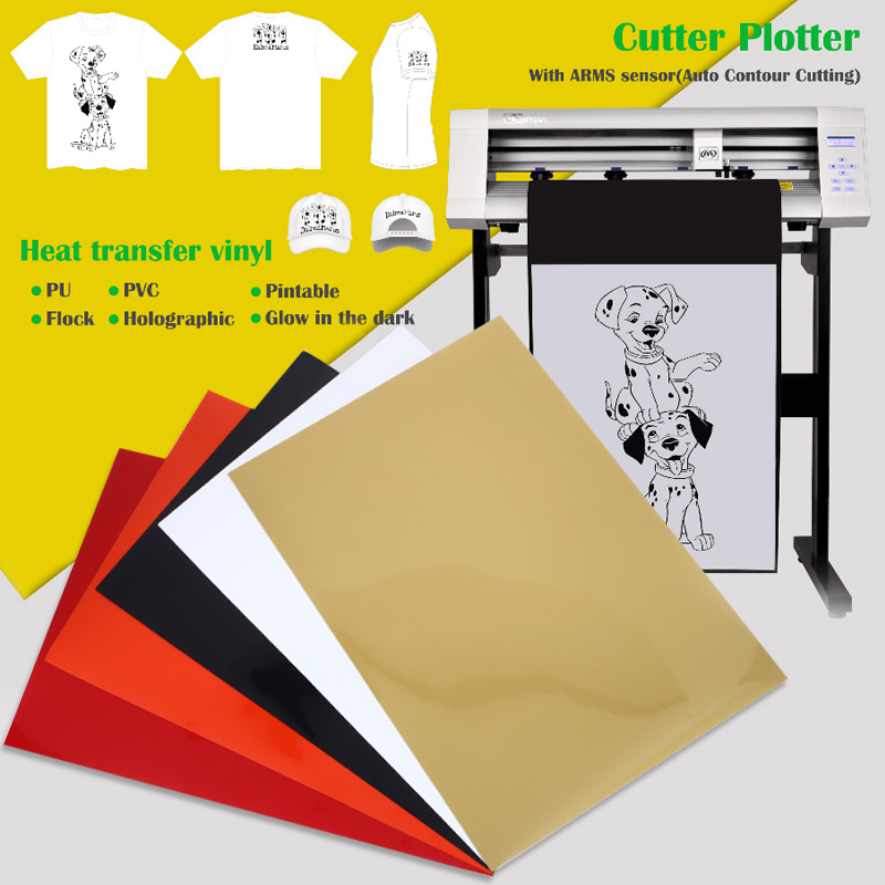 Heat Transfer Paper TPU Diy Picture Light Color A4 Fabrics Cloth T-Shirt Print Paper Iron On Paper Durable Inkjet Printers