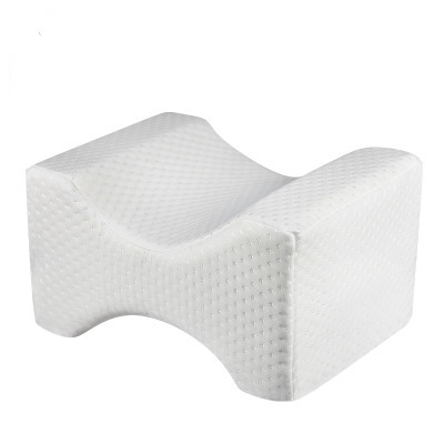 Memory Foam Wedge Sleeping Knee Pillow For Side Sleepers Back Pain Sciatica Relief Pregnancy Maternity Pillows Bed Leg Cushion