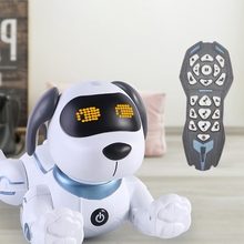 Remote Control Dog RC Robotic Stunt Puppy Dancing Programmable Smart Toy with Sound Interactive Gift C5AF