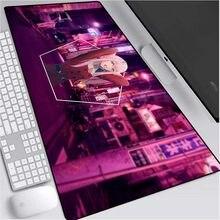 Małżeństwo Anime drogi Franxx podkładka pod mysz podkładka pod mysz XXL Darling In The Franxx podkładka pod mysz gamingową na laptopa wodoodporna klawiatura podkład na biurko różowy podkładka pod mysz