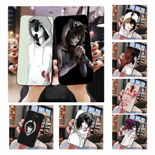 NBDRUICAI Jeff the killer Horror Animation Luxury Unique Design Phone Cover For Oppo A5 A9 2020 A11x A71 A73S A1K A83 case(China)