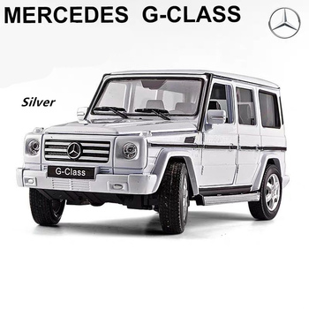 welly 1:24 Mercedes-Benz G500 G55   car alloy car model simulation car decoration collection gift toy Die casting model boy toy welly 1 24 mercedes amg gtr green car alloy car model simulation car decoration collection gift toy die casting model boy toy