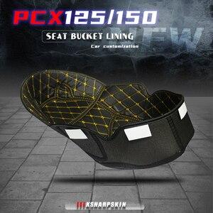 Image 1 - 혼다 PCX 125 150 ADV 150 pcx125 adv150 pcx150 범용 트렁크 라이너 프로텍터 오토바이 시트 버킷 매트 보관함 매트