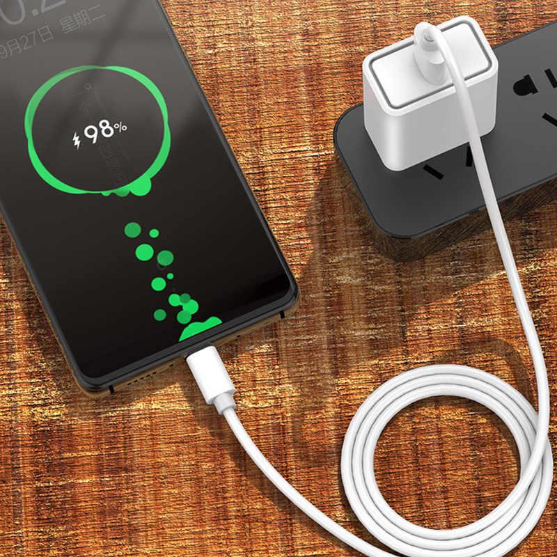 5A USB Loại C Cho Samsung Tiểu Mi Đỏ Mi Note 7 Mi 9 Se Nhanh Dây Sạc USB-C sạc Điện Thoại Di Động USBC Loại-C 2M
