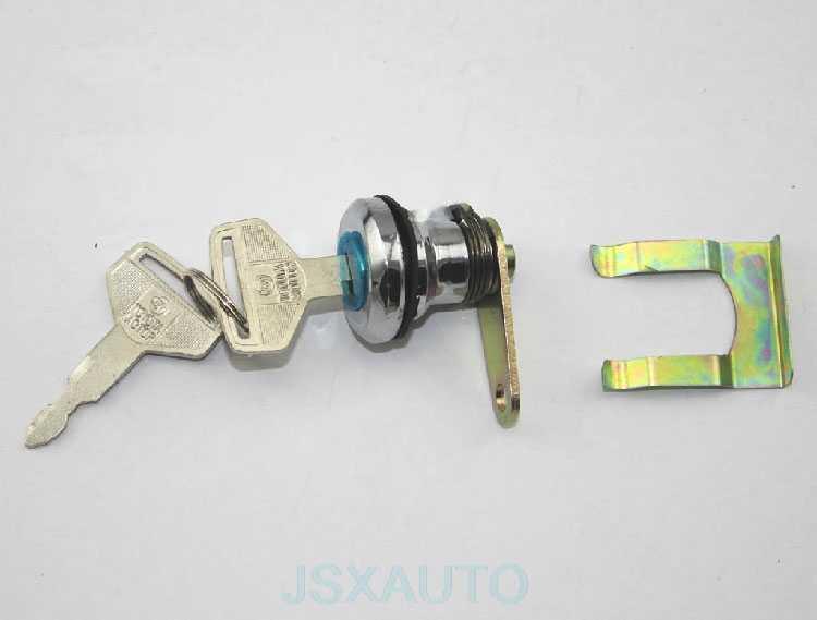 Hook Excavator Taksi Kunci Pintu Mengemudi Inti Bangunan Kunci Silinder Kunci Pintu SK untuk Kobelco