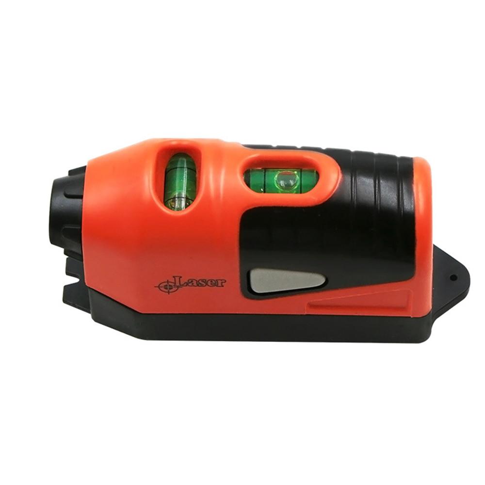 Mini Vertical Spirit Level Tool Laser Level LASER STRAIGHT THE Laser Guided Level Line Measurement Gauge Tool