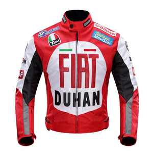 Image 3 - 2020 new Original DUHAN D 082 overalls Moto GP jacket motorcycle D082 knight jacket Repsol best quality red blue cotton lining
