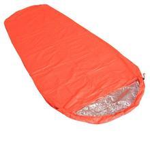 Кемпинг Теплоизоляционный спальный мешок открытый приключения аварийное спасательное одеяло