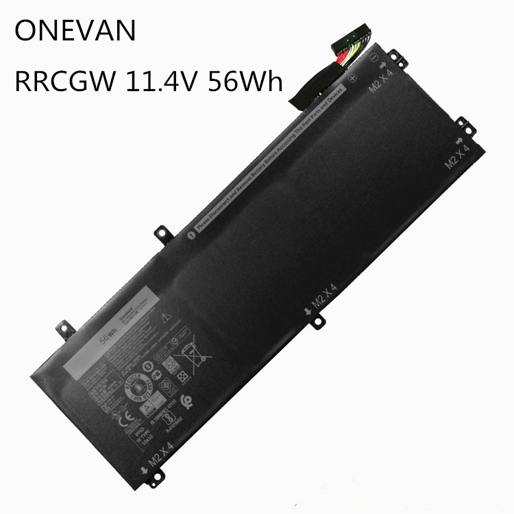 ONEVAN RRCGW New Laptop Battery For Dell XPS 15 9550 Precision 5510 Series M7R96 62MJV 11.4V 56WH Free Shipping