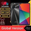 Смартфоны Note10 Pro 4 ГБ ОЗУ 64 Гб ПЗУ 13 МП 3850 мАч 4G-LTE 6,72 дюйма Android дешевые мобильные телефоны распознавание лица разблокированные мобильные теле...