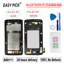 For LG K7 3G X210 LCD Display Touch Screen Digitizer Assembly For LG K7 LTE 4G MS330 AS330 K332 K330 X210DS L51AL L52VL