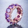 Женское кольцо из розового золота, овальное свадебное кольцо в африканском стиле, ювелирное изделие в Подарок на годовщину, R5390, 2021