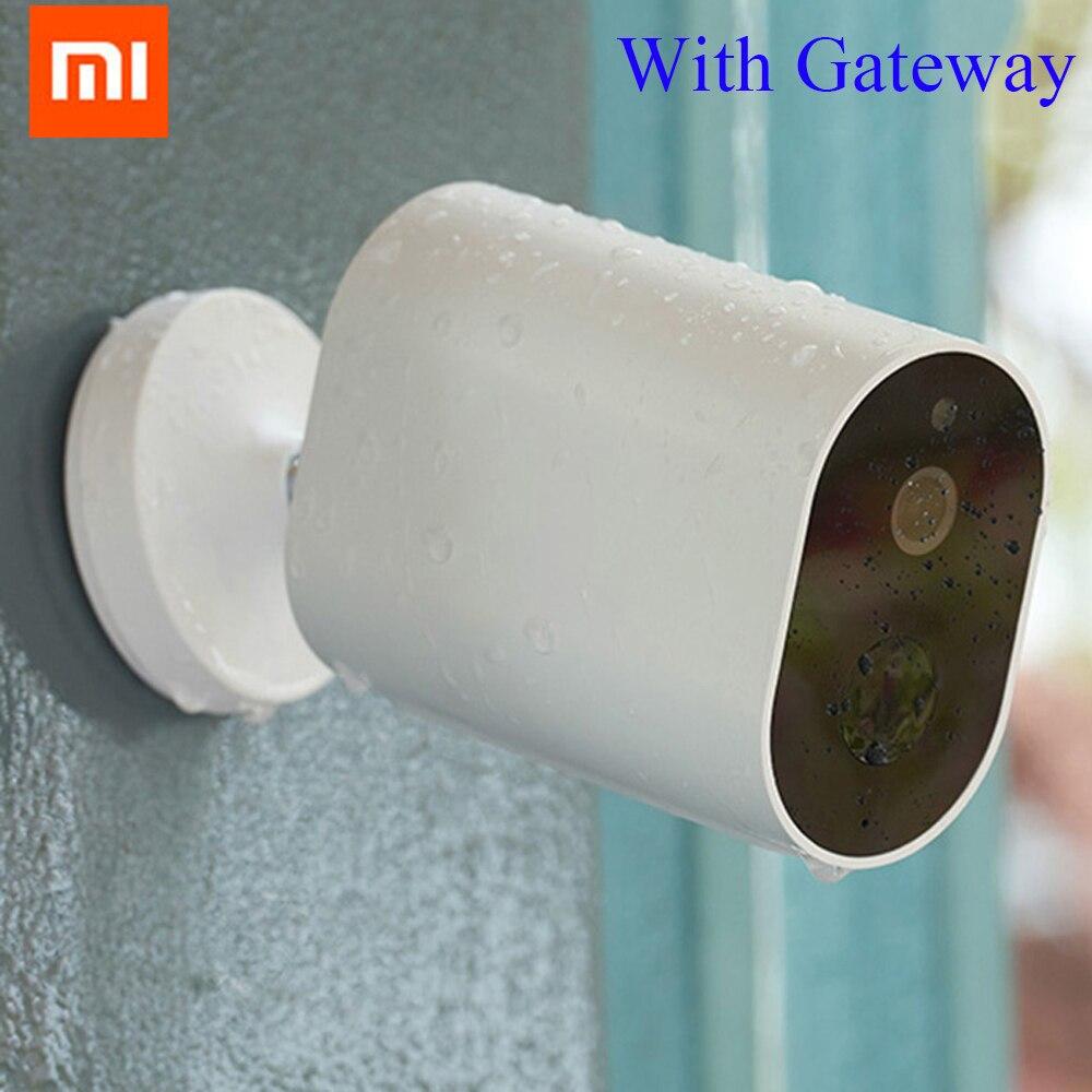 Original Xiaomi Mijia Smart IP Camera HD 1080P Detection Night Vision Smart Camera Battery Gateway CMSXJ11A IP Wireless Cameras