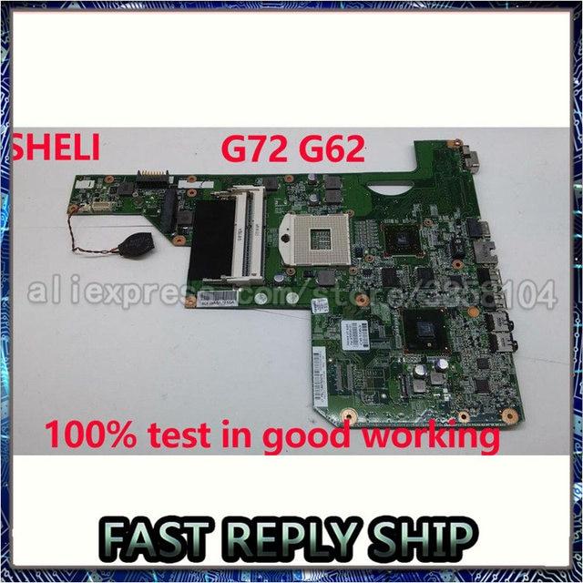 615848-001 605902-001 608340-001 для Hp Compaq G72 G62 Материнская плата ноутбука 17 дюймов HM55 DDR3 с графикой