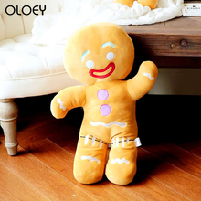 Cute Gingerbread Man Plush Toy Baby Appease Doll Biscuits Man