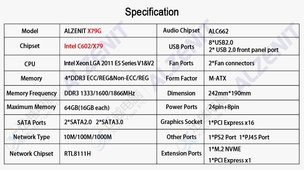 X79G参数(带水印)