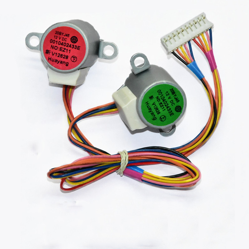 New Original For Air Conditioning Dual Synchronous Motor 10 Lines Wind Motor 20BYJ46 12V 16V