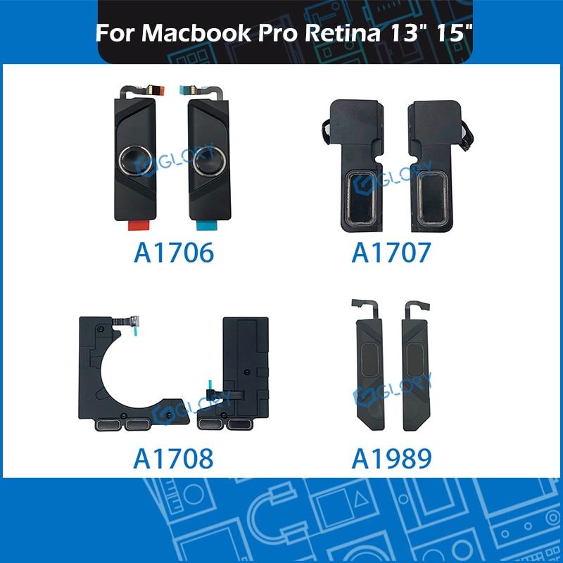 Комплект динамиков для ноутбука Macbook Pro Retina, 13 дюймов, 15 дюймов, A1706, A1708, A1989, A1707, сменный левый и правый динамик