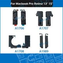Juego de altavoces para ordenador portátil, repuesto de altavoces izquierdo y derecho para Macbook Pro Retina de 13