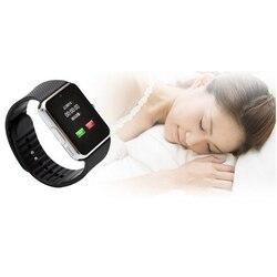 Новый smart watch es android GT08 PKU8 A1 samsung smart watch s SIM интеллигентая (ый) мобильный телефон часы Запись sleepstatus smart watch