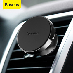Baseus Magnetic Car Phone Holder For Samsung Xiaomi Mobile Cell Phone Support Car Air Vent Mount GPS Car Phone Stand