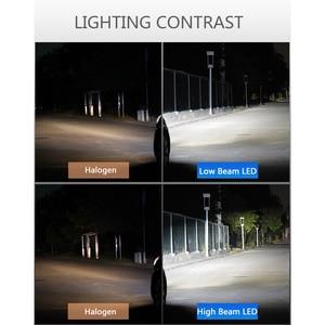 Image 5 - 2X H7 H4 H11 H8 H1 HB3 9005 9006 H9 HB3 HB4 LED Canbus LED Car Light Headlight Bulb 10000LM 100W 6000K 12V Automobile Fog Lamp