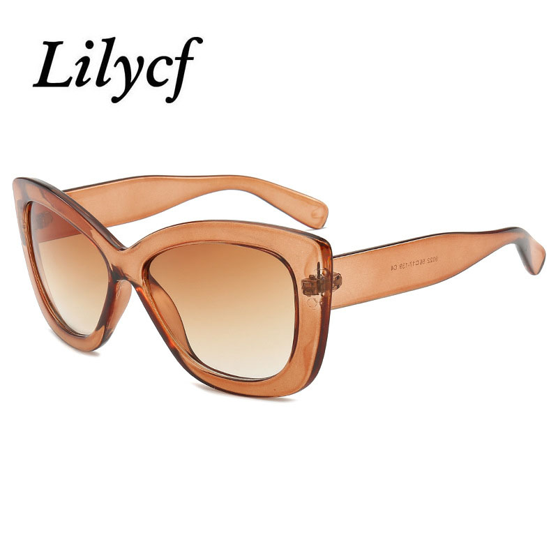 2019 New Transparent Sunglasses Unisex Personality Retro Wild Glasses Women's Brand Designer High Quality Sunglasses UV400