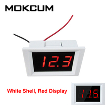 Alarm Voltage-Meter High Display Current Digital DC And of XH-B115 4-50V Real-Time Upper-And-Lower-Limit