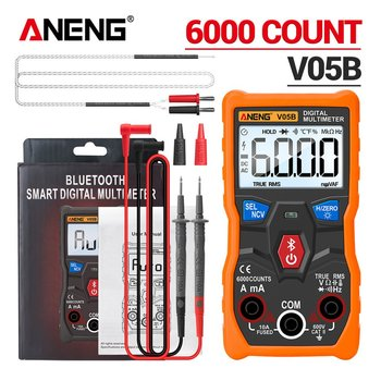 Wireless Multimeter Without Battery Digital Multimeter V05B Professional Multimeter AC/DC Currents Voltage Mini Testers image