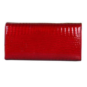 Image 2 - genuine leather wallet women long ladies leather wallets  2020 new woman purse diamond womens leather wallets