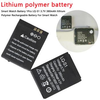 Litowo-polimerowy akumulator litowo-jonowy 1 szt 380m Smartwatch akumulator litowo-polimerowy akumulator litowo-polimerowy do inteligentnego zegarka DZ09 QW09 A1 W8 tanie i dobre opinie Marsnaska LQ-S1 Li-ion NONE 700 mAh CN (pochodzenie) Baterie Tylko