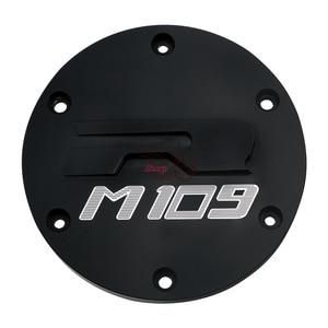 Image 3 - אופנוע חלקי כרום חריטה דרבי מכסה מנוע גלגל מכון משמר עבור סוזוקי דרות M109R VZR1800 אינטרודר M1800R 2006 2019