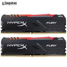 Kingston HyperX FURY RAM DDR4 RGB Speicher 2400MHz 2666MHz 3000MHz 3200MHz 3466MHz DIMM XMP Memoria ddr4 für Desktop-Speicher Ram