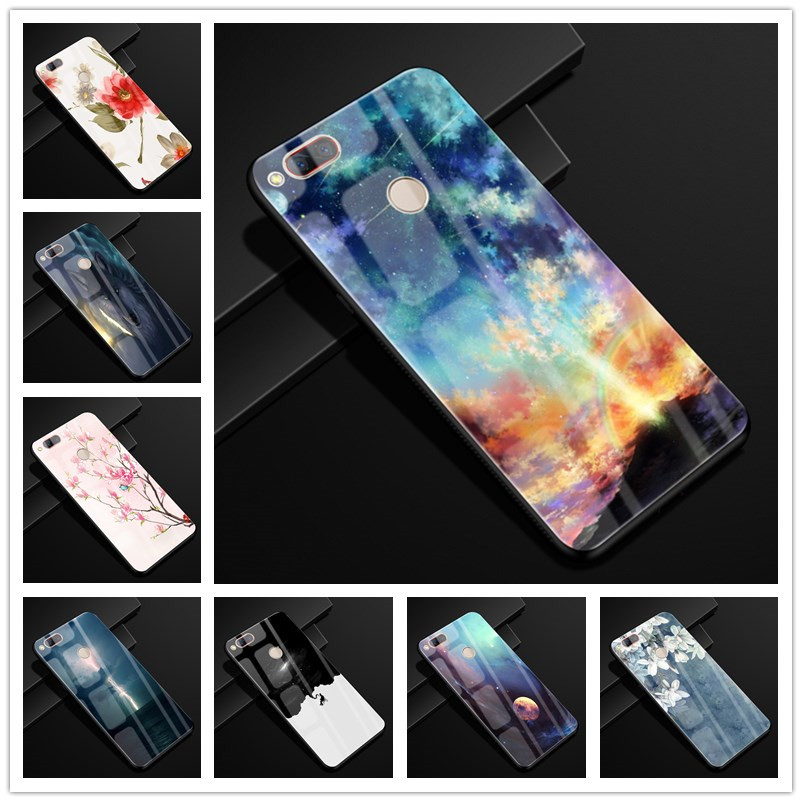 For ZTE <font><b>Z17</b></font> <font><b>mini</b></font> <font><b>Case</b></font> 5.2'' Glass Hard Back <font><b>Cases</b></font> For ZTE <font><b>NUBIA</b></font> <font><b>Z17</b></font> <font><b>mini</b></font> <font><b>Case</b></font> Tempered Glass Cover Z17mini Z 17 NX569H NX569j image