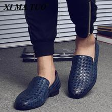 2021 Men Shoes luxury Brand Moccasin Leather Casual Driving Oxfords Shoes Men Loafers Moccasins Italian Shoes for Men size 38-48