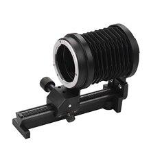 Fotoğraf makro uzatma körük fotoğraf stüdyosu Sony NEX e montaj Lens kamera DSLR SLR kameralar odaklama ekleri aksesuarı