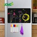 8x12 polegada magnético blackboard folha para cozinha geladeira etiqueta calendário do escritório menu planejamento mercearia lista de compras placa mensagem