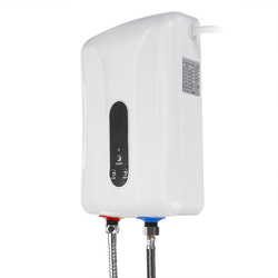 5500W 220V Mini Electric Water Heaters Instant Electric Hot Water Heater Shower Safe Intelligent  Electric Water Heaters