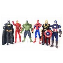 30cm super herói com luz música estatueta bonecas brinquedos pvc figura de ação collectible modelo brinquedo