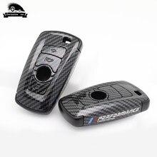 Чехол для ключей из углеродного волокна для BMW 520 525 f30 f10 F18 118i 320i 1 3 5 7 X3 X4 M3 M4 M5 E34 E60 E36