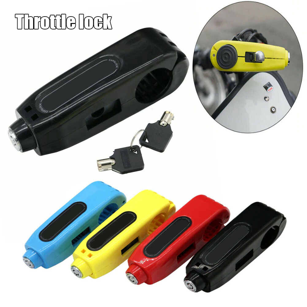 Effective Motorcycle Grip Lock Security Scooter Handlebar Safety Brake Lock Tool YAN88