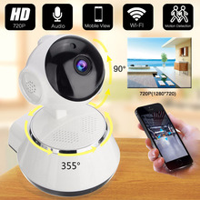 WiFi Camera IR Cut IP Camera Pan/Tilt Wireless Surveillance CCTV 1080P Camera 720P HD 1MP CMOS Home Security Babby Monitor цена 2017