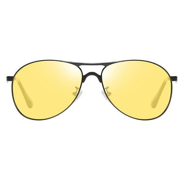 Classic Retro Designer Nighttime Driving Glasses for Women Men Aviation Polarized Night Driving Sunglasses Goggles UV400 2