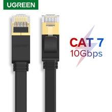 Ugreen Cat7 Ethernet Kabel 10Gbps RJ45 Lan Kabel UTP Netzwerk Kabel Patchkabel für Router Modem PC Laptop 10m/50m Super Speed