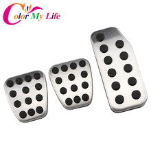 Car-Pedals Stainless-Steel Honda Color for Vezel HRV My-Life