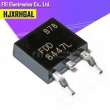 10 pces fdd8447l fdd8447 to 252 to252 8447 smd mos fet transistor original novo